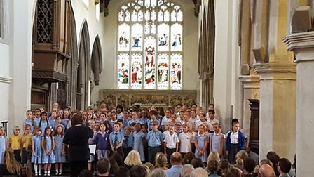 St Mary's concert. Picture: Layth Yousif.