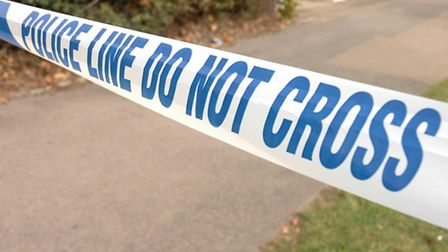 A man died in Hitchin this morning.