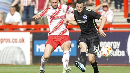 Stevenage have already played Brighton this month, in a pre-season friendly which Boro won 1-0.