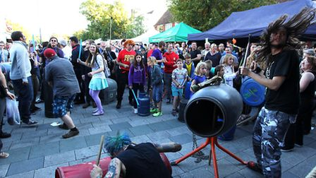 Some of the action at Balstock 2015.