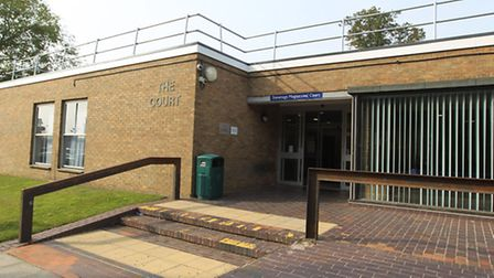 A 35-year-old man from Letchworth is back behind bars after he admitted attacking a police officer i