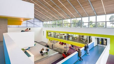 North Herts College , which has campuses in Hitchin (pictured), Stevenage and Letchworth, says there