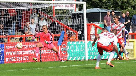 Stevenage beat Luton Town on Saturday, and will be hoping for more of the same against Stoke tonight