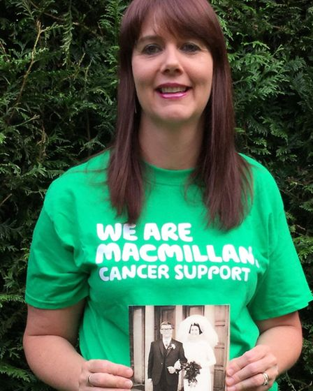 Sarah Walton from Stevenage will be taking on the Macmillan All Out Swim in Letchworth in memory of