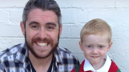 Tom Davison was feeding the ducks with his dad, Peter, when he became concerned about litter in the