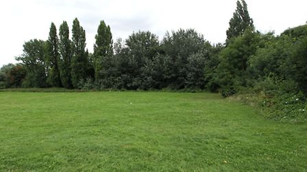 The alleged rape is said to have occurred on this field near Cadwell Lane, Hitchin.