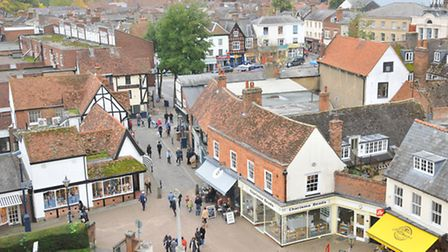 Hitchin is ranked as the ninth happiest place to live in the UK, according to a Rightmove survey.