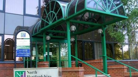 North Herts District Council's offices in Letchworth.