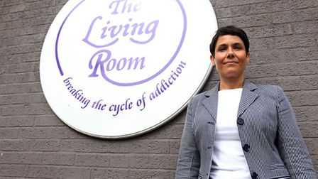 Laura Drane a counsellor at the Living Room
