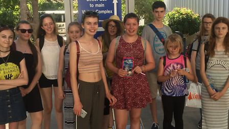 The Saffron Walden Young Carers group in America