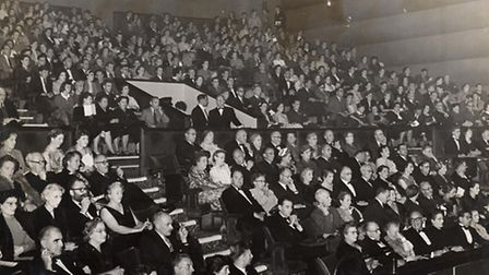 The Broadway installed a new screen in 1955 in order to show widescreen Cinemascope features, and re