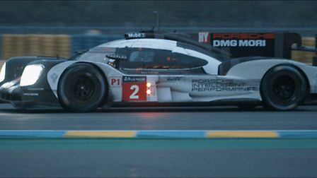 A still from Kingdom Creative's film about Porsche's victory at this year's 24 Hours of Le Mans, Fin