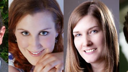 Chris Jenkins, Hannah Long, Laura Valentine and Madalina Rusu will be performing at the Voices for S
