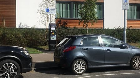 Parking outside Lister Hospital in Stevenage is now pay and display.