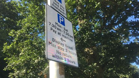 Motorists are unhappy with the new pay and display outside Stevenage's Lister Hospital.