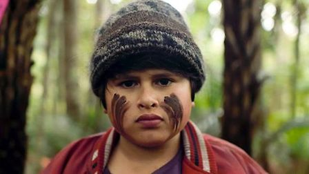 Young star, Julian Dennison, in the Hunt of the Wilderpeople.