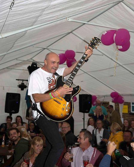 The Sir William Peel Pub held its third annual music festival in support of CLIC Sargent on Saturday