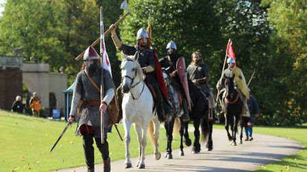Battle of Hastings soldiers at Audley End House