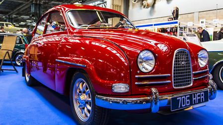 This stunning Saab will be one of the classic cars on show at the NEC in November.