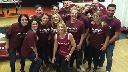 The Doing it for Daisy team hope to raise £10,000 for Tommy's.