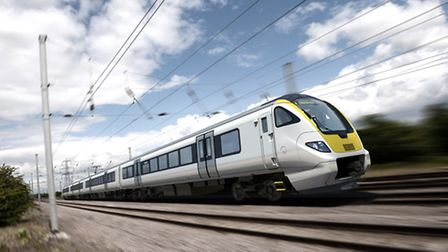 What the new Bombardier-made Aventra trains, to run on suburban Greater Anglia routes, may look like