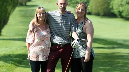 Jack's mum, Ann Mudd, brother Mark and sister Kirsty.