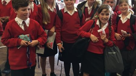 Priory school pupils at its mental health day