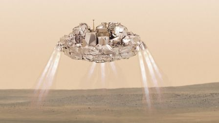 The Schiaparelli lander is expected to touch down on Mars tomorrow