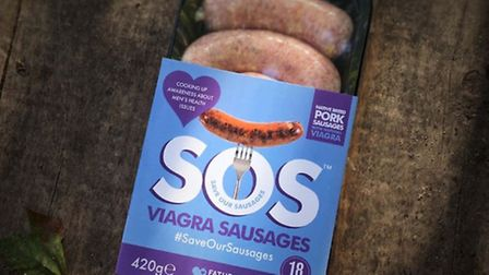 Stevenage's Bobby Smith says men need to stand up for their sausages.