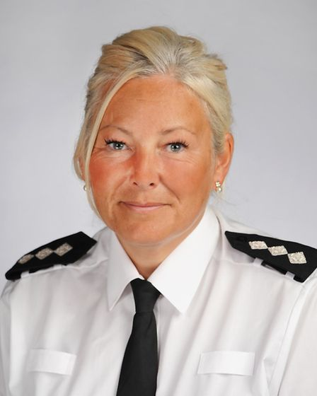 Chief Inspector Julie Wheatley, who lives in Letchworth.