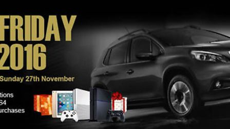 Get your PEUGEOT deals this Black Friday