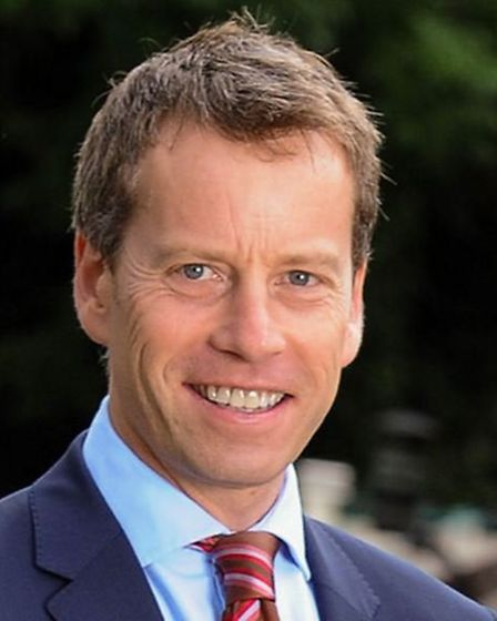 Jonathan Aves, director of the Hertfordshire Community Foundation, is asking people to support the c