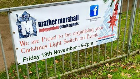 Mather Marshall's Knebworth branch has organised a Christmas lights switch-on event tomorrow from 5p