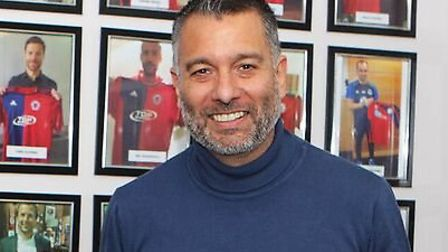 Guillem Balague is looking forward to welcoming Hashtag United to Second Meadow.