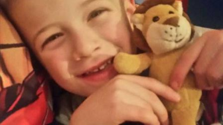 Five-year-old Archie Banks, reunited with Mikey the Lion thanks to Will Honeysett, 10.