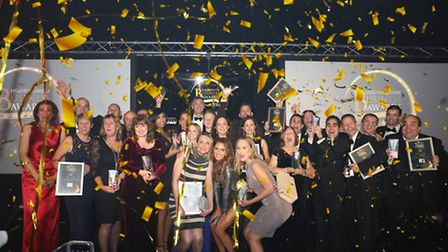 The winners of the Hertfordshire Business Awards 2016. Photography by Casey Gutteridge.