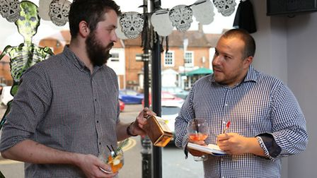 Cinnabar Stevenage manager Igor L'eman talks to the Comet's Layth Yousif about the new gin menu.