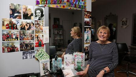 Anita Waller is retiring from hairdressing after over 50 years in the trade.