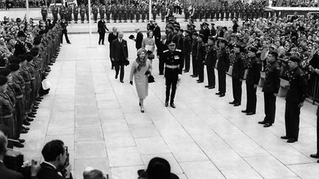 The town centre was officially opened by HM The Queen in 1959.