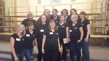 Military Wives Choir from RAF Henlow.