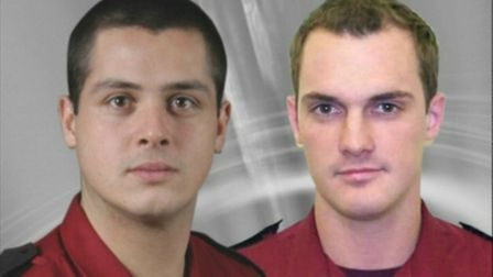 Firefighters Michael Miller and Jess Wornham died in the Harrow Court tower block tragedy in 2004