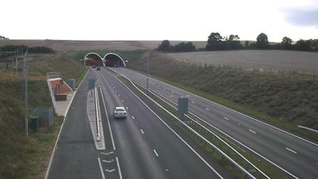 The Weston Hills Tunnel. Photo: C2r at the English Wikipedia