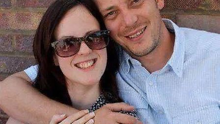 Laura Borrell and husband Philip from Hitchin set up a GoFundMe page after Laura was diagnosed with