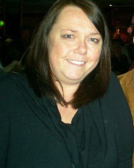 Sue Wilcock before her weight loss programme