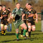 Saffron Walden had little of the ball during their defeat to Tring. Picture: Jamie Pluck