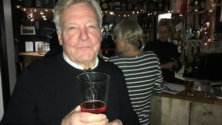 LALG chairman George Barnes raises a glass to the organisation's 30th anniversary at the Garden City
