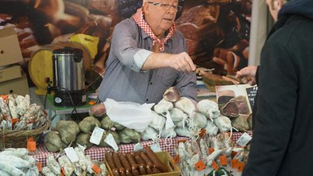 Pick up some local specialties in the French market at The France Show