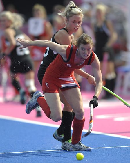 Great Britain's Helen Richardson-Walsh has been given an MBE for services to hockey. Photo: Ady Kerr