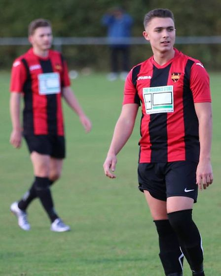 Alfie Barker in action for Codicote. Picture: Mark Howie