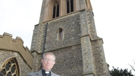 Reverend Andrew Holford of St Mary's Church told the Comet he smashed up the computer's hard drive